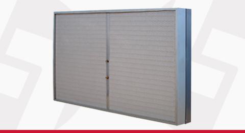 Caixa Filtro de Ar Descartġavel para Forro Linter Filtros