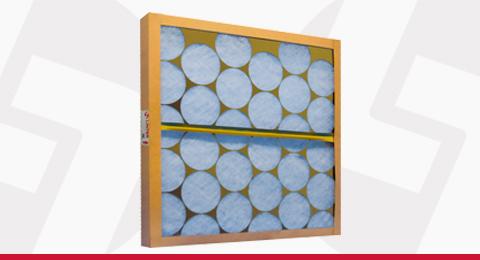 Filtros Grossos Descartáveis em Manta de Fibra de Vidro Linter Filtros