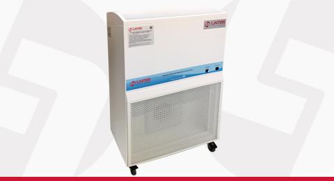 Unidade Compacta de Descontaminação de Ar Estéril Linter Filtros