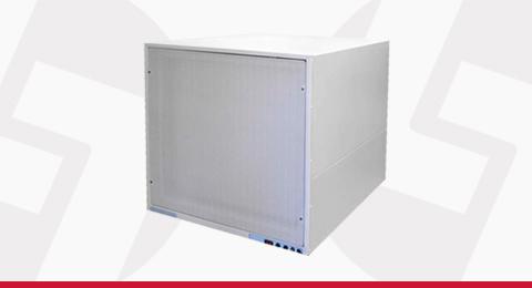 Unidade Compacta de Ventilação de Ar Estéril Linter Filtros
