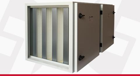 Unidades Compactas de Filtragem e Ventilação de Ar