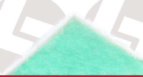 Mantas Filtrantes de Fibra de Vidro para Cabines de Pintura