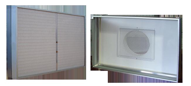 Caixas de Filtragem para Forros - Caixas Descartáveis ou Permanentes