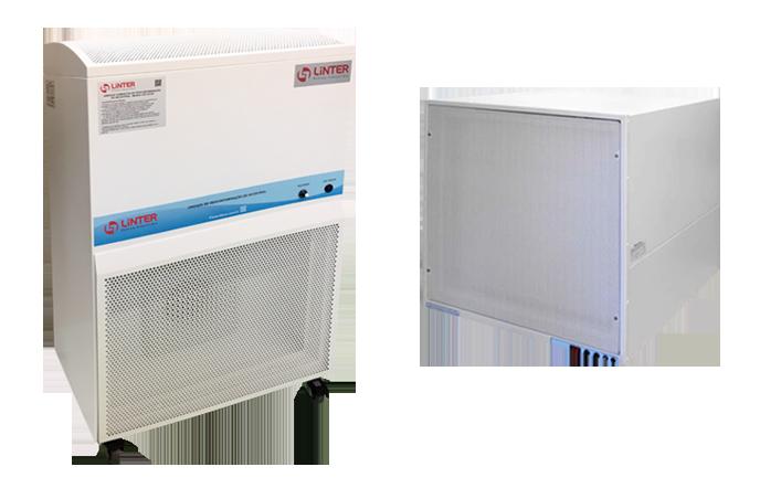 Unidade Compacta de Ventilação e Descontaminação de Ar Estéril