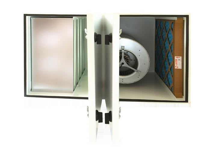 Unidade Compacta de Ventilação e Filtragem de Ar