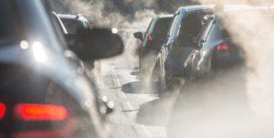 transito e poluição