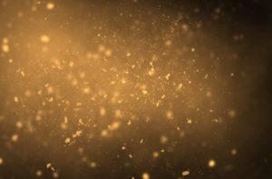 partículas de poeira