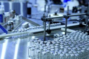 Linha de Produção Indústria Farmacêutica